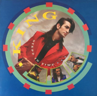 King - Steps In Time (LP) (VG/VG)